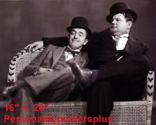 "Laurel & Hardy~Comedy Team~#4~Photo~Personality Poster~ 16"" x 20"""
