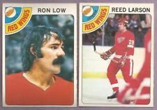 1978-79 OPC O-PEE-CHEE Detroit Red Wings Team Set