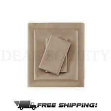 Madison Park 600 Count Pima Cotton Sheet - Premium Quality KING Size 4 Pcs Set