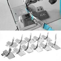Bias Tape Binding Binder Presser Foot For Snap On Stitch Domestic Sewing Machine