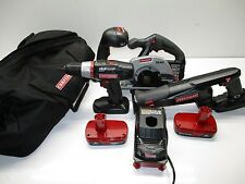 Craftsman Drill/Driver Set w/ 2 Lithium-Ion Batteries LOT