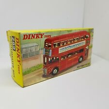 Dinky Toys Routemaster Bus Model 289 Schweppes Route 221 Kings Cross 2