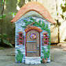 Magical Secret Mushroom Fairy Pixie Door Garden Sculpture Decorative Ornament