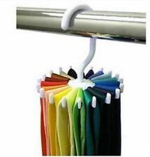 2014 New Rotating Tie Rack Adjustable Tie Hanger Hold 20 Neck Ties Organizer Men