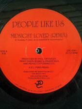 "People Like Us-Midnight Lover 12"" Rare Disco/Hi-Nrg Hit"