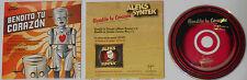 Aleks Syntek - Bendito Tu Corazon (LP 3:22/Samba Mix 5:13) 2002 Promo CD Single