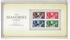 GB 2013 Seahorses 1913 Facsimile Reproduction Stamp Presentation Pack VGC