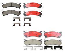 Front & Rear Brembo Brake Pads Set Kit For Silverado Sierra 1500 2500 HD H2