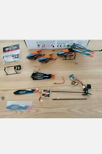 Eachine E119 rc helicopter(basically new) Plus Loads Of Spare Parts A Great Deal