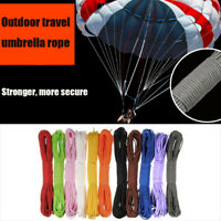 100FT Bundle Paracord Reel 550 Parachute Cord Guy Rope 7 Strand Portable