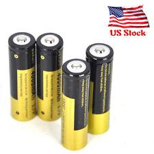 4X Boruit 3.7V Li-ion 4000mAh 18650 Rechargeable Battery For Flashlight Headlamp