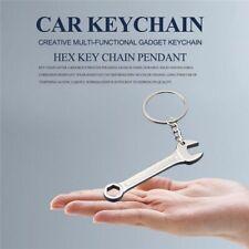 Creative Multi-Functional Gadget Keychain Hexagon Wrench Key Chain Pendant C 7S4