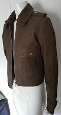 Superbe veste en cuir Balmain authentique taille 42 soit 40 TBE