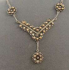 VTG  SW   ZUNI  NECKLACE  WITH  MATCHING DANGLE  EARRINGS