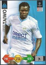 PANINI UEFA CHAMPIONS LEAGUE 2009-10 TRADING CARD-MARSEILLE-TAYE TAIWO