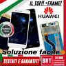 DISPLAY LCD+TOUCH SCREEN+FRAME ORIGINALE PER HUAWEI P10 LITE WAS-LX1A VETRO_24H!