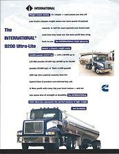 Truck Brochure - International - 9200 Ultra-Lite  (T1862)