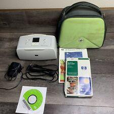 HP Photosmart A516 Digital Photo Inkjet Printer W/ Software, Carry Case & Paper