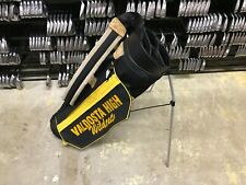NICE Lightweight PING GOLF Black & Yellow STAND BAG 4-Way Divided Single Strap