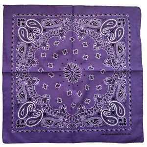 Paisley Bandana Head Wrap 100%Cotton Head Wrap Neck Scarf Wristband Handkerchief