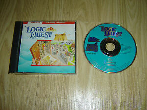 LOGIC QUEST 3D - LEARNING ADVENTURE CDROM FOR AGES 8-14
