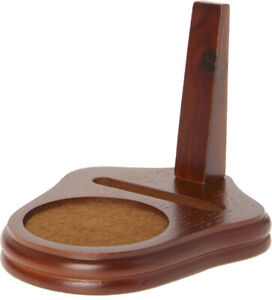 """Bard's Demitasse Walnut Cup & Saucer Stand, 3.5"""" H x 3.5"""" W x 4.5"""" D (Pack of 2)"""