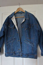 Vintage JAG blue denim jacket. Oversize M. Made in Australia.
