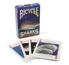1 Deck Bicycle Sharks Standard Poker Playing Cards Sealed New In Box