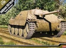 Academy - Jagdpanzer 38(t) Hetzer Early Version Modell-Bausatz 1:35 + Schablone