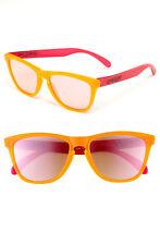 Oakley FROGSKINS Limited Edition BlackLight Oranger Pink w/Pink Iridium 24-284