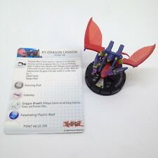 Heroclix Yu-Gi-Oh! Series 3 set XY-Dragon Cannon #017 Super Rare figure w/card!