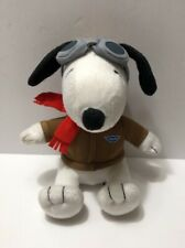 """Metlife Snoopy Flying Aces 6"""" Plush 2015 Peanuts #5169"""