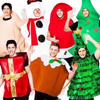 Christmas Adult Fancy Dress Xmas Festive Jolly Season Mens Ladies Costume Outfit