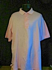 Carnoustie Pink Cotton Golf Shirt XL
