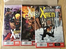 Wolverine And The Xmen Comics #1-3! Look In The Shop
