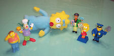 Mixed Lot 6 The BART SIMPSONS TOYS FIGURES Fast Food PVC Maggie Plush
