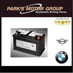 Genuine BMW 80AH AGM-Battery 1,2,3,5 Series X1,2,3  Z4. 61217555719