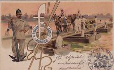 # MILITARI - GENIO: 4° REGGIMENTO GENIO PONTIERI   1902