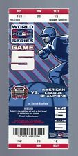 VINTAGE 2006 WORLD SERIES TIGERS @ ST. LOUIS CARDINALS CLINCHER FULL TICKET G#5