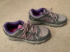 New Balance Women's WTE412N2 Grey/Purple Trail Running Sneakers Size 8.5