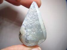 Blue Smithsonite Gemstone Focal Bead Center PIece Stone Jewerly Design Pendant