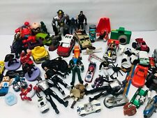 Action Figure Toy Lot with Tonka Power Rangers Hot Wheels & More Toy Assortment