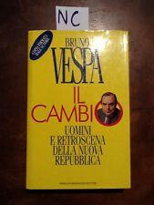 IL CAMBIO - VESPA - MONDADORI - 1994 - Autografato