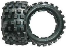 "HOSTILE RACING ""NIGHTMARE MX"" HARD COMPOUND (REAR) TYRES HPI BAJA 5B GENUINE!!"