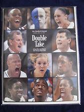 UCONN HUSKIES 04 MEN'S & WOMEN'S NCAA BASKETBALL CHAMPIONS HARTFORD COURANT PUB.