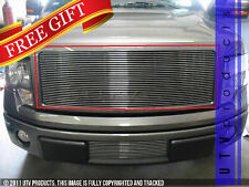 GTG 2009 - 2012 Ford F150 1PC Polished Upper Insert Billet Grille Grill