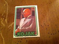 Vintage 1970's Miniature KOJAK TV SHOW SERIES Telly Salvalas Trading Card RARE!