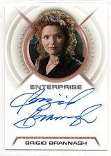 Star Trek Enterprise Autograph Brigid Brannagh A14 Ruby