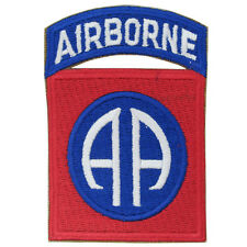 82nd Airborne Patch All Americans - WW2 Repro US Badge AA Uniform Insignia Army