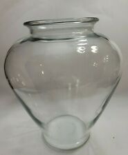 EX Large Clear Glass BETA Fish Bowl 11X28 Diameter  TERRARIUM VASE